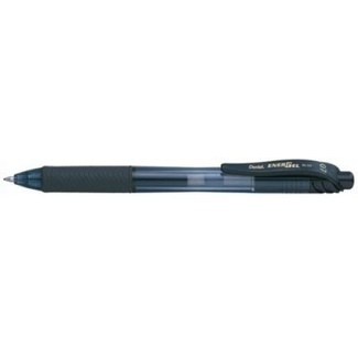 Pentel Energel Retractable Gel Roller Pen 0.7mm - Black
