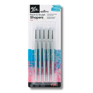 Mont Marte Paint & Sculpt Shapers 5pc