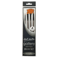 Mont Marte Gallery Series Brush Set Acrylic