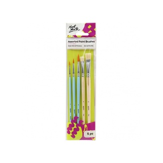Mont Marte Discovery Paint Brush Set - 5pc