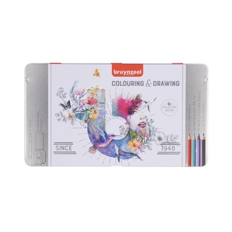 Bruynzeel Colour Drawing Set 70pc