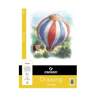 Canson Drawing Pad A2 110gsm 50 Sheets