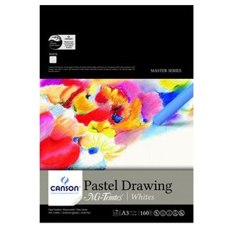 Miteintes Pastel Pad A3 White 160gsm 15 Sheets