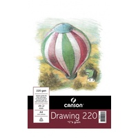 Canson Drawing Pad A4 220gsm 25 Sheets