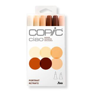 Copic Ciao Art Marker Set of 6 - Skin Tones