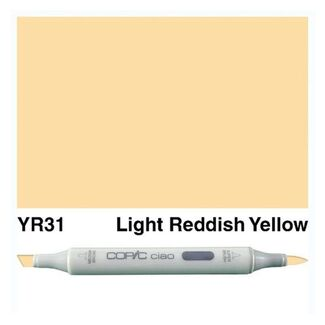 Copic Ciao Art Marker - YR31 Light Reddish Yellow