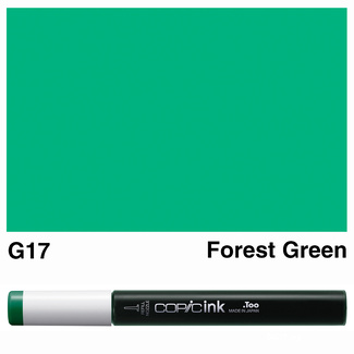 Copic Ink (Refill) 12ml - G17 Forest Green