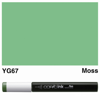 Copic Ink (Refill) 12ml - YG67 Moss