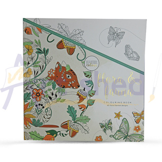 Kaisercolour Colouring Book - Flora & Fauna
