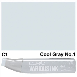 Copic Various Ink (Refill) - C1 Cool Grey No.1