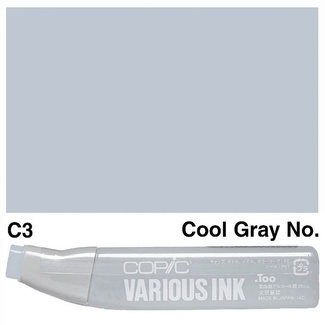 Copic Various Ink (Refill) - C3 Cool Grey No.3