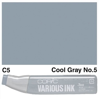 Copic Various Ink (Refill) - C5 Cool Grey No.5