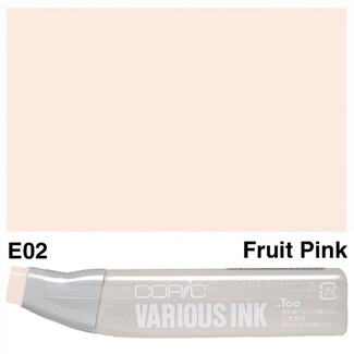 Copic Various Ink (Refill) - E02 Fruit Pink