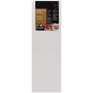 "Mont Marte Professional Series Canvas Double Thick 4"" x 12"" - 10.2 x 30.5cm"