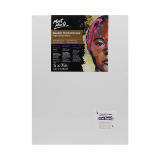 "Mont Marte Professional Series Canvas Double Thick 5"" x 7"" - 12.7 x 17.8cm"