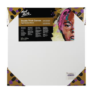 "Mont Marte Professional Series Canvas Double Thick 12"" x 12"" - 30.5 x 30.5cm"