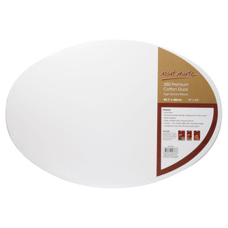 "Mont Marte Professional Series Oval Canvas 18"" x 26"" - 45.7 x 66.0cm"