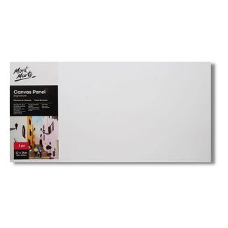 "Mont Marte Canvas Panel 12"" x 24"" - 30.5 x 60.9cm"