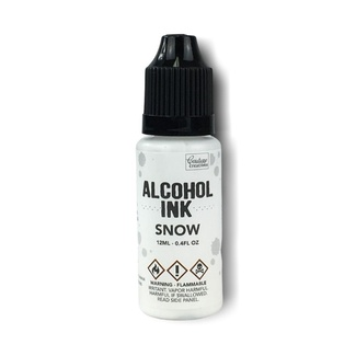 Couture Creations Alcohol Ink 12ml - Snow