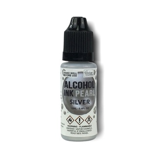 Couture Creations Alcohol Ink 12ml - Pearl Silver