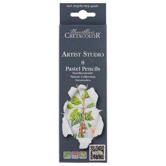 Cretacolor Studio Pastel Pencil Set - Nature 8pc