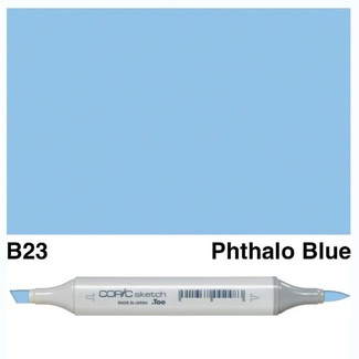 Copic Sketch Art Marker - B23 Phthalo Blue