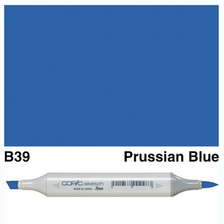 Copic Sketch Art Marker - B39 Prussian Blue