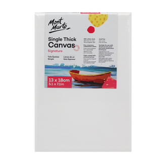 Mont Marte Studio Canvas Single Thick 13 x 18cm