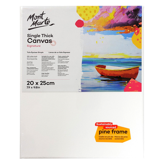 Mont Marte Studio Canvas Single Thick 20 x 25cm