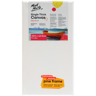 Mont Marte Studio Canvas Single Thick 22.9 x 12.7cm