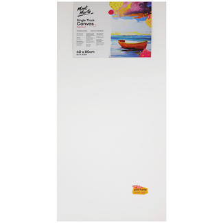 Mont Marte Studio Canvas Single Thick 40 x 80cm