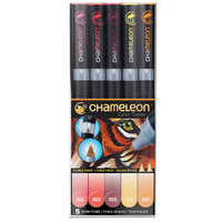 Chameleon Colour Tone Marker Set 5pc - Warm Tones