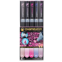Chameleon Colour Tone Marker Set 5pc - Floral Tones