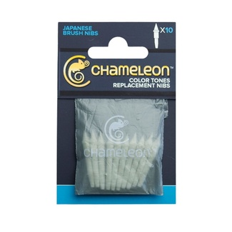 Chameleon Pen Replacement 10pk - Brush Nib
