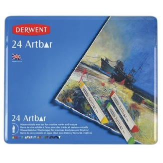 Derwent Artbar Tin Of 24
