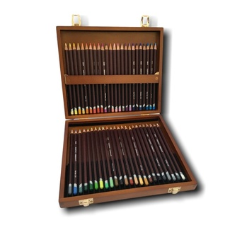 *Derwent Wooden Box Set - Coloursoft Colouring Pencil 48pc - Plus Free DVD