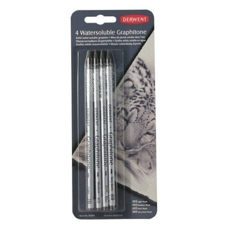 Derwent Graphitone Pencil 4pc