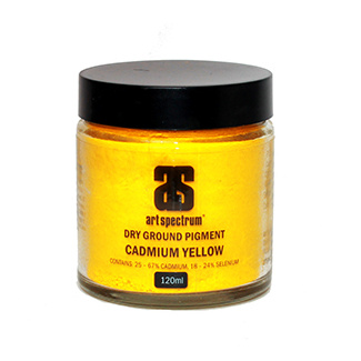 Art Spectrum Dry Ground Pigment 120ml S4 - Cadmium Yellow