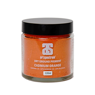 Art Spectrum Dry Ground Pigment 120ml S4 - Cadmium Orange