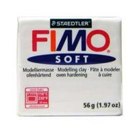 Fimo Soft Polymer Clay  - White No 0