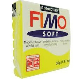 Fimo Soft Polymer Clay  - Lemon No 10