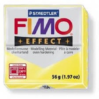 Fimo Effect Polymer Clay  - Translucent Yellow No 104