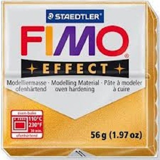 Fimo Effect Polymer Clay  - Metallic Gold No 11