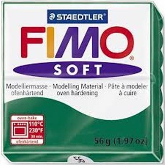 Fimo Soft Polymer Clay  - Emerald No 56