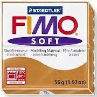 Fimo Soft Polymer Clay  - Cognac No 76