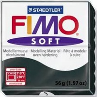 Fimo Soft Polymer Clay  - Black No 9