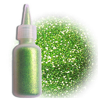 TAG Glitter Puffer 60ml - Apple Green