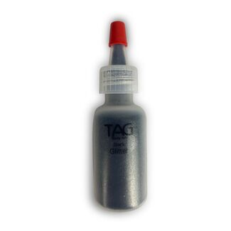 Tag Black Glitter Puffer Bottle 15ml
