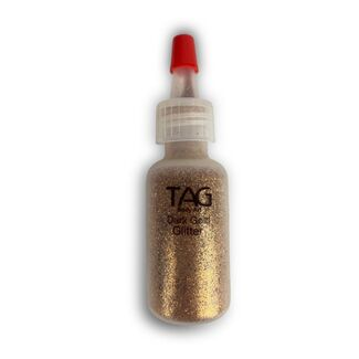Tag Dark Gold Glitter Puffer Bottle 15ml