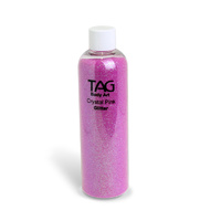TAG Glitter 250ml - Crystal Pink - DISCONTINUED